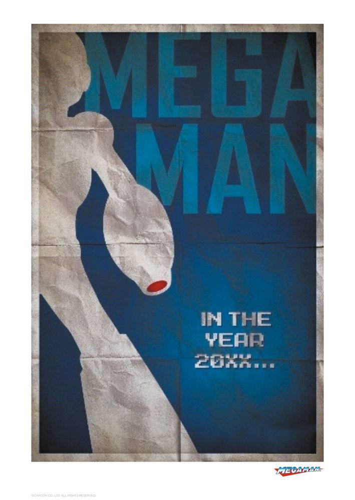 Mega Man Art Print Blaster 42 x 30 cm