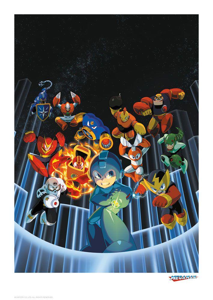 Mega Man Art Print Mega Man 42 x 30 cm