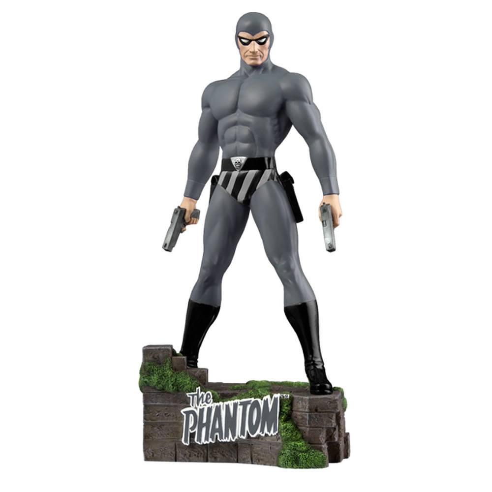 The Phantom Statue The Ghost Who Walks Grey 31 cm