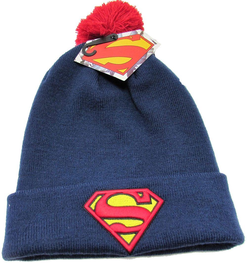 Superman Beanie Bobble Logo