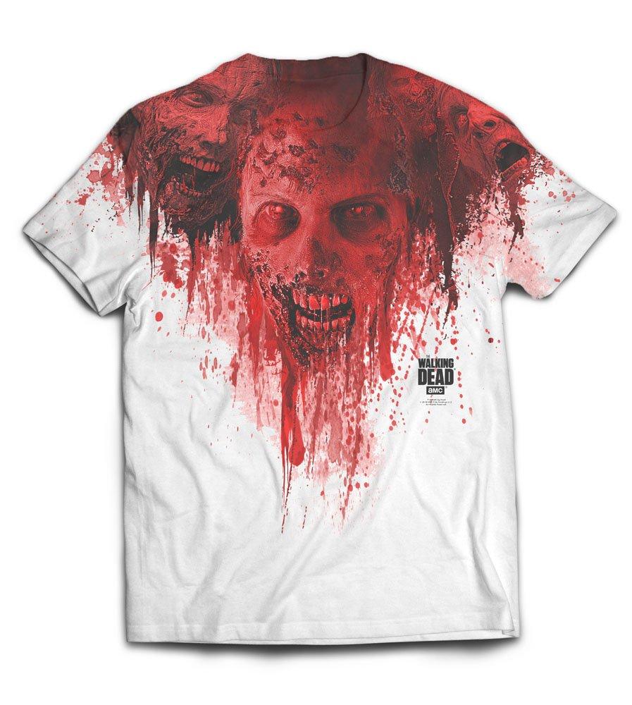 Walking Dead Sublimation T-Shirt Walkers Size L