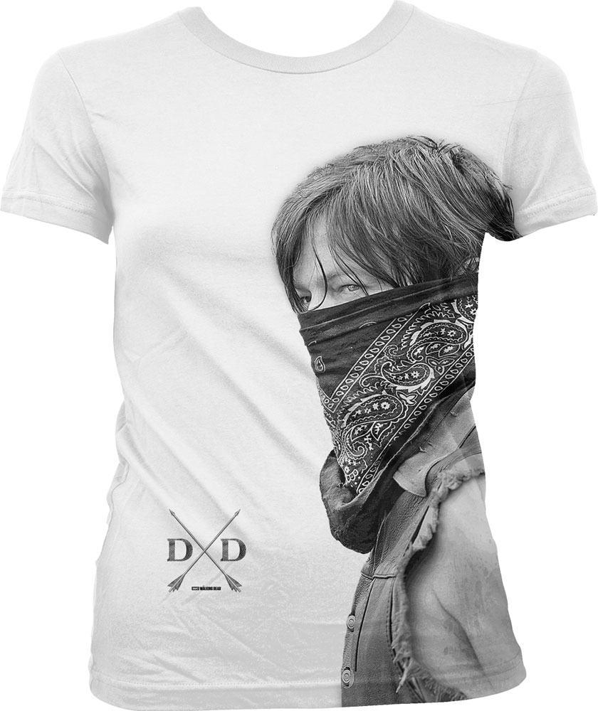 Walking Dead Sublimation Ladies T-Shirt Daryl Size M