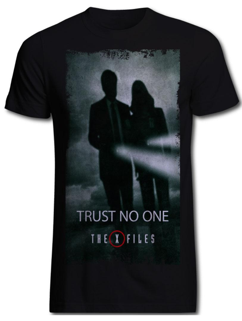 The X-Files T-Shirt Trust No One  Size S