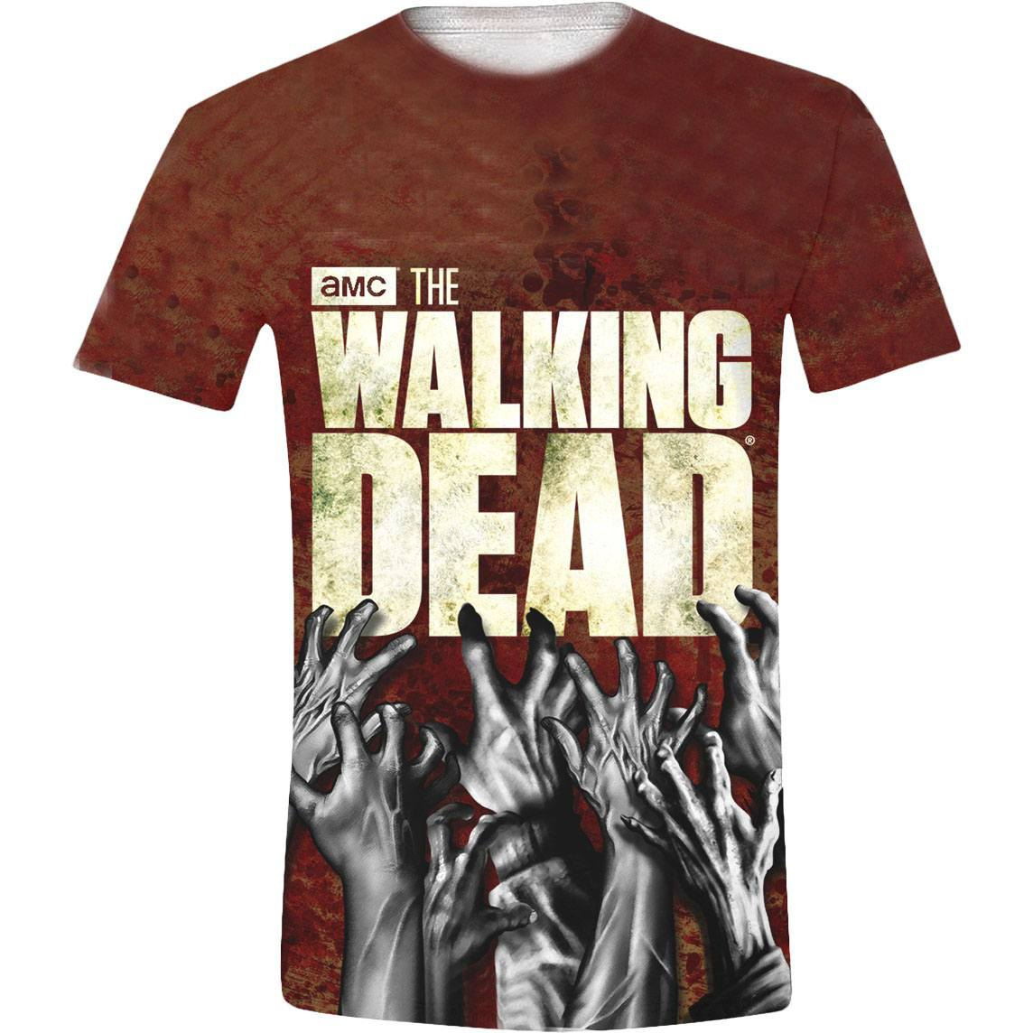 Walking Dead Sublimation T-Shirt Hands Size M