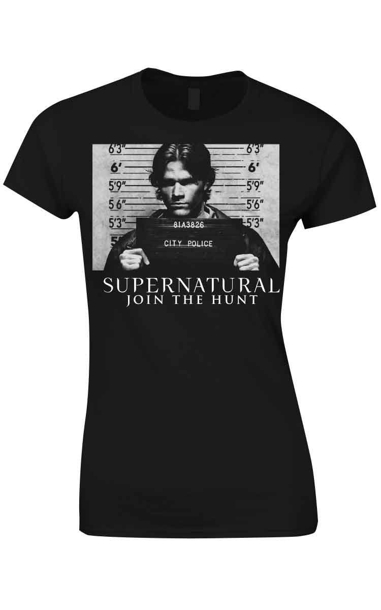 Supernatural Ladies T-Shirt Join The Hunt Size L