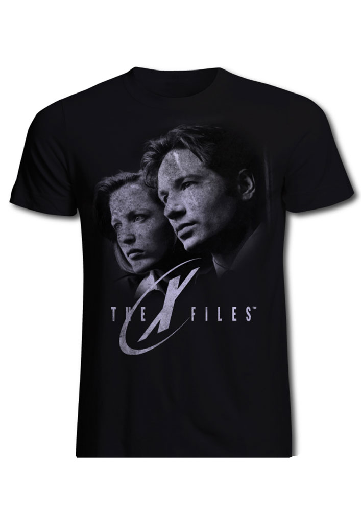 The X-Files T-Shirt Mulder & Skully Size S