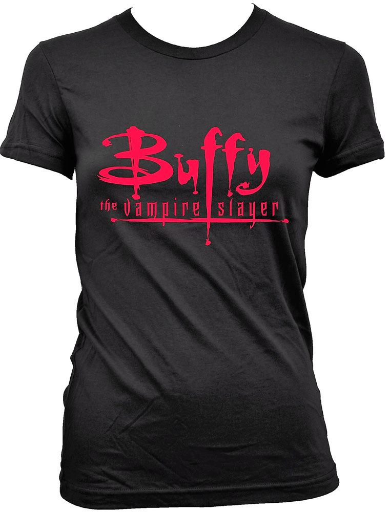 Buffy the Vampire Slayer Ladies T-Shirt Original Logo  Size M