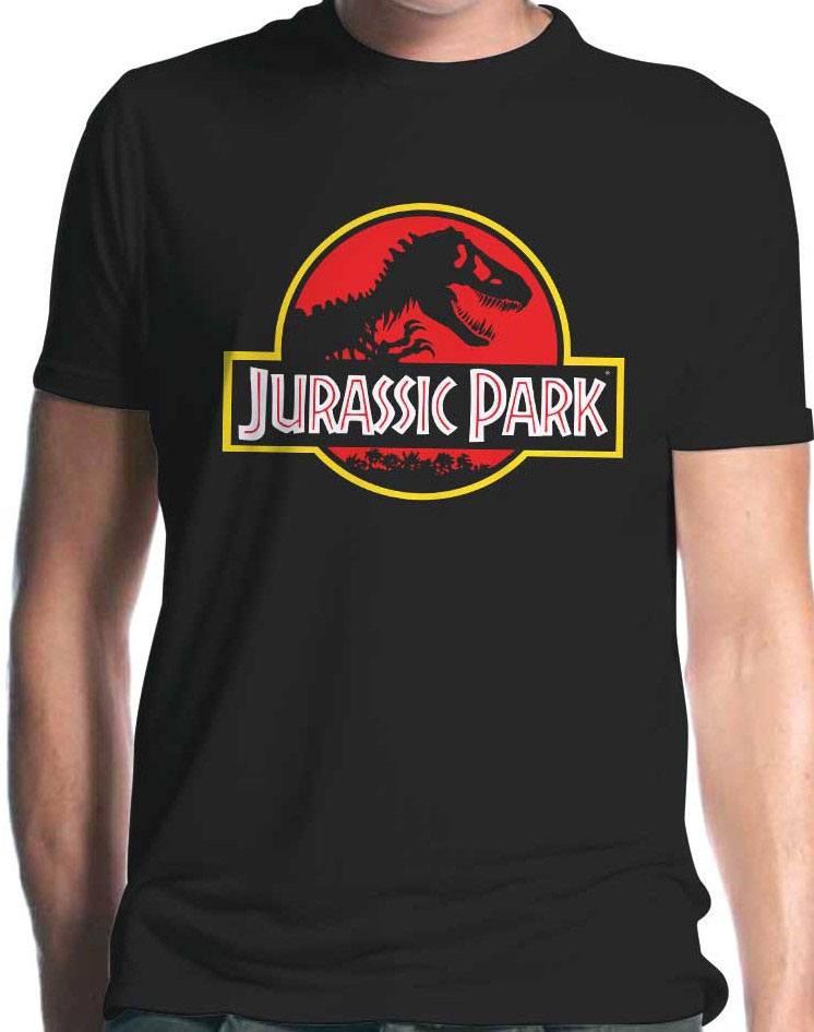 Jurassic Park T-Shirt Classic Logo  Size XL