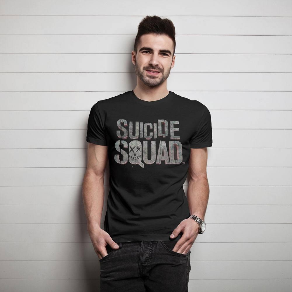 Suicide Squad T-Shirt Logo Size XL