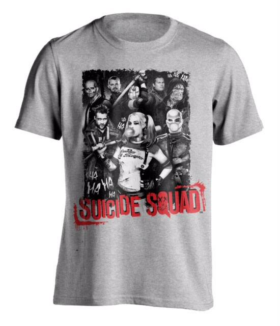 Suicide Squad T-Shirt HA HA Squad Size S