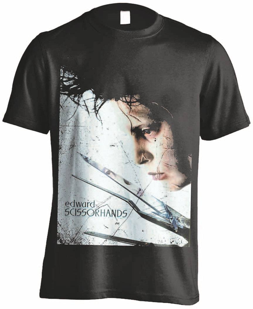 Edward Scissorhands T-Shirt Profile Poster Size XL