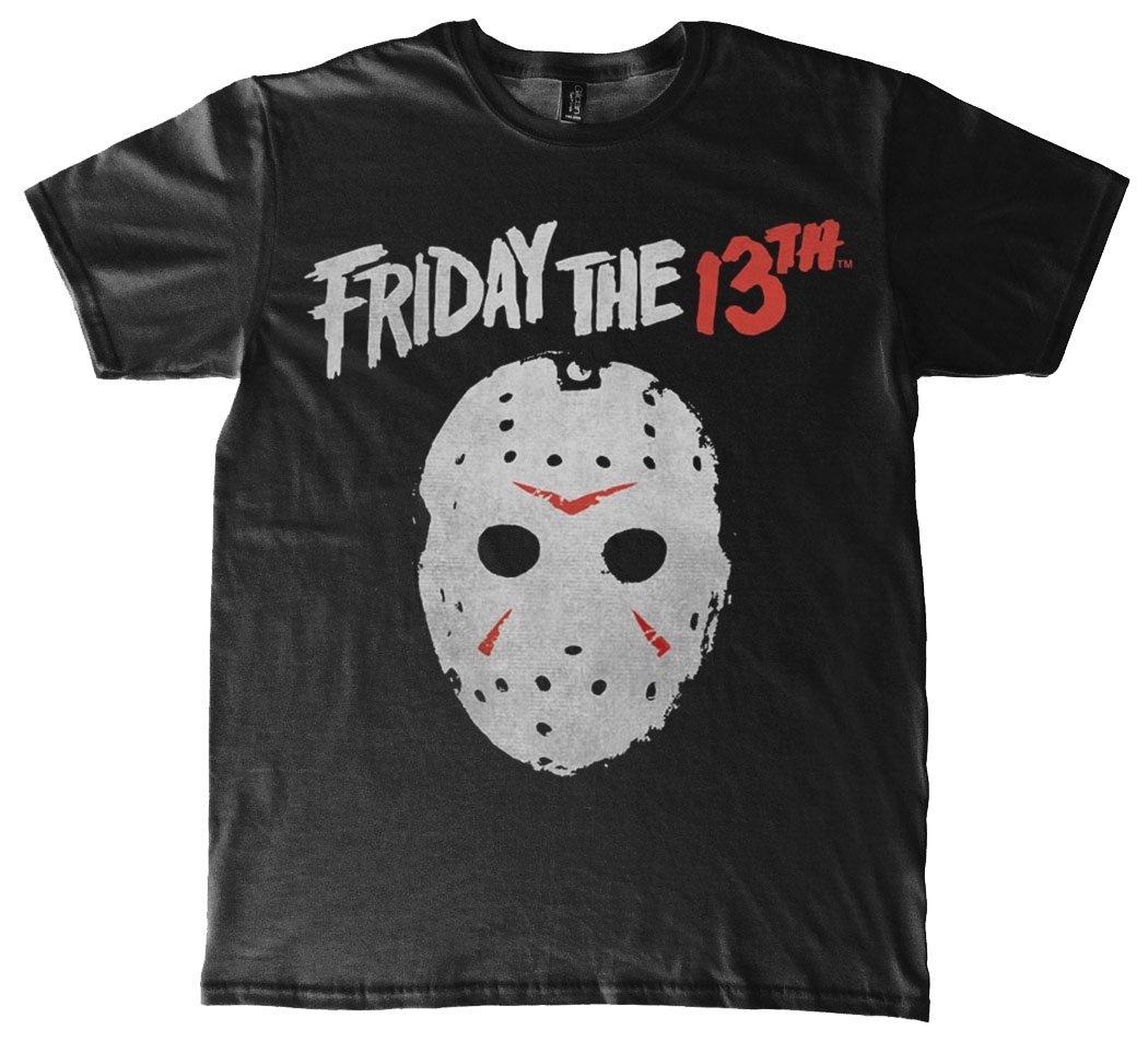 Friday the 13th T-Shirt Mask Size XL