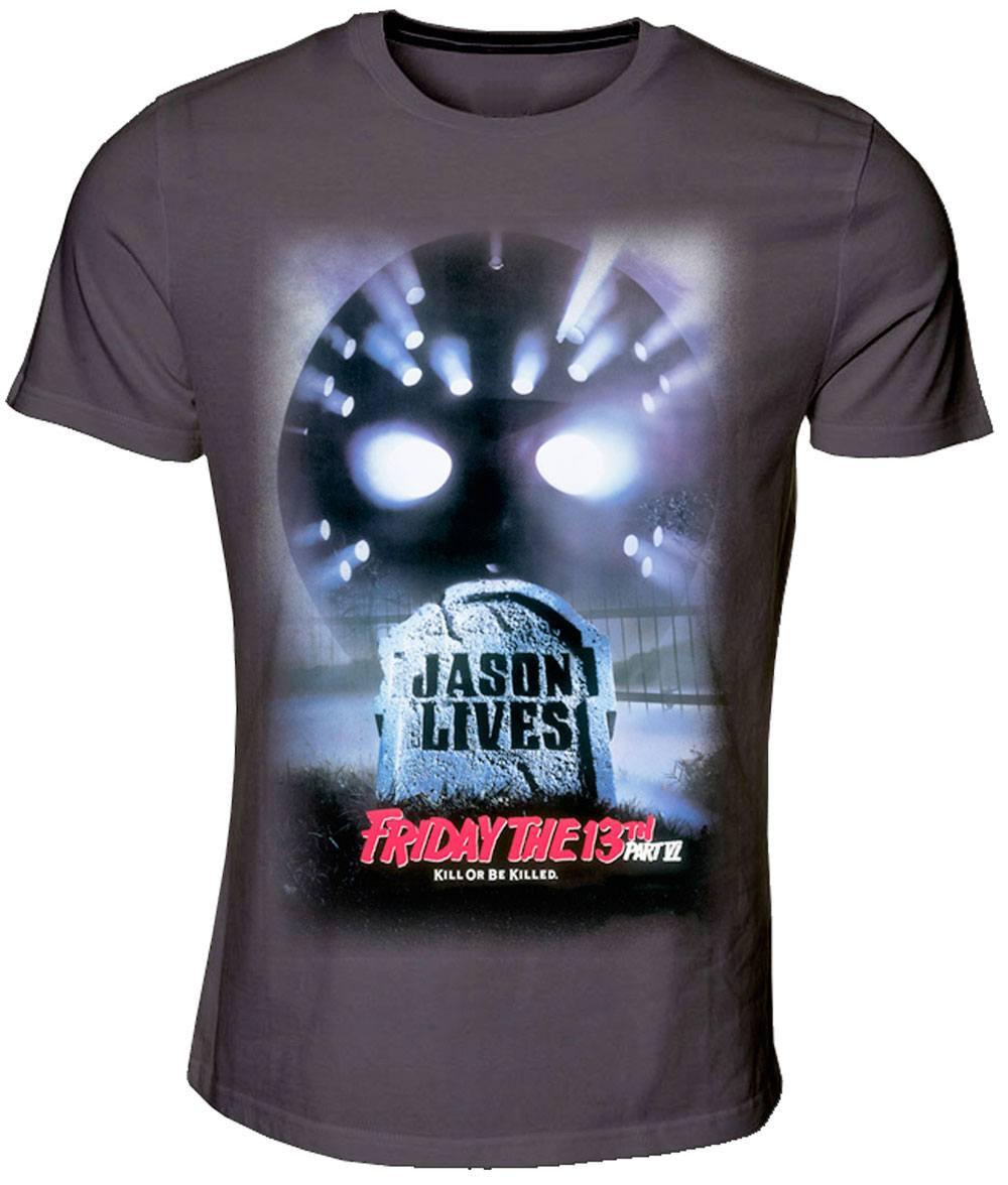 Friday the 13th T-Shirt Jason Lives  Size M