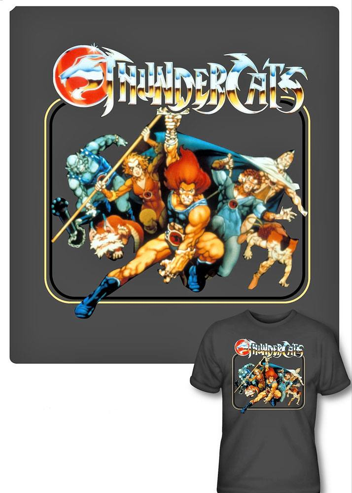 Thundercats T-Shirt Square Group Size S