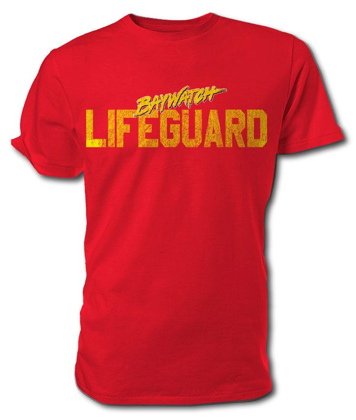 Baywatch T-Shirt Lifeguard Size M
