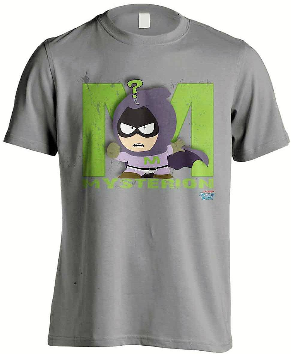 South Park The Fractured But Whole T-Shirt Mysterion Grey Size L