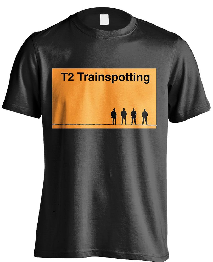 T2 Trainspotting T-Shirt Logo Size XL