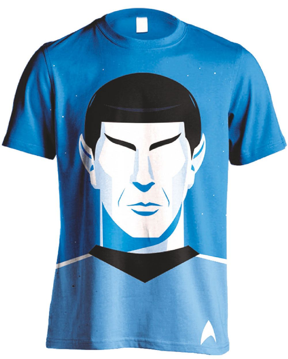 Star Trek T-Shirt Spock Vector Size M