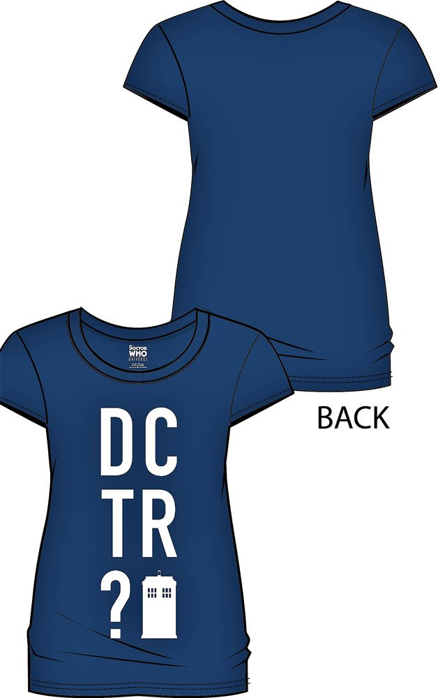 Doctor Who Ladies T-Shirt DCTR Size M