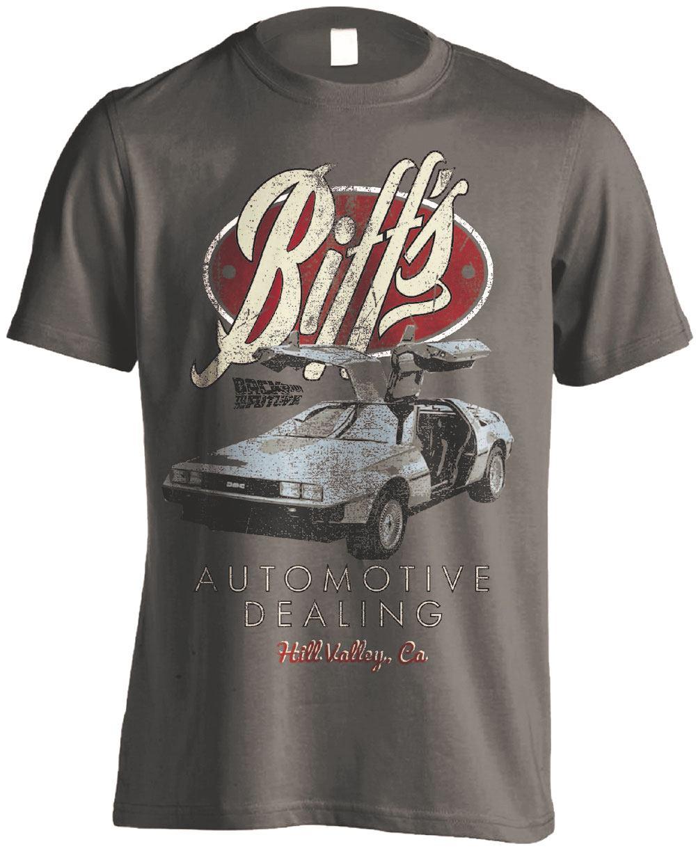 Back to the Future T-Shirt Biffs Automotive Size L