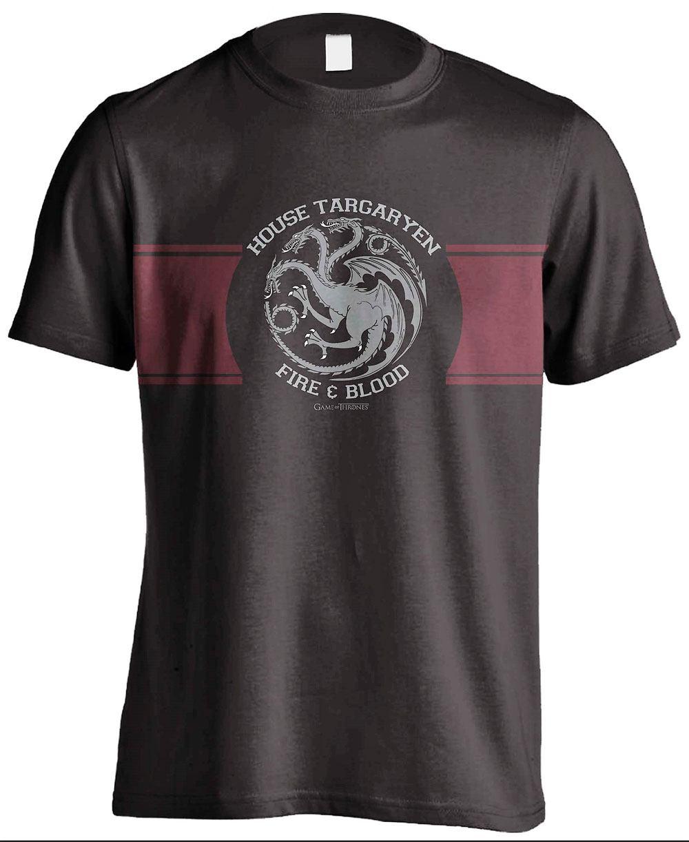 Game of Thrones T-Shirt Targaryen Stripe Size M