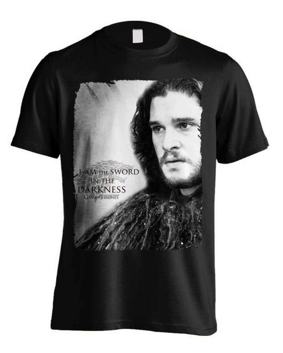 Game of Thrones T-Shirt Sword in Darkness Size M