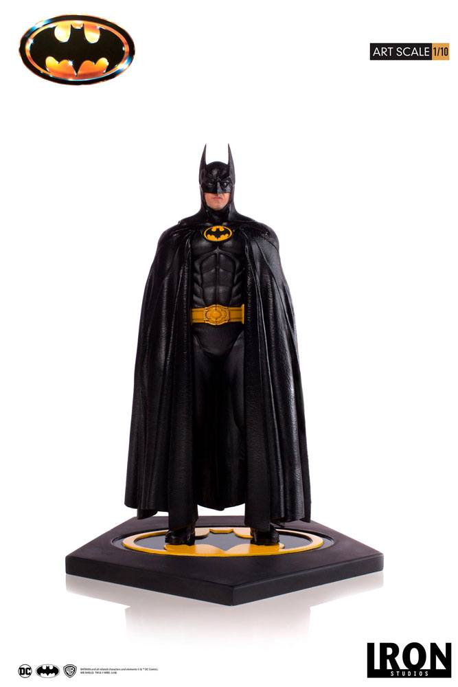 Batman (1989) Art 1/10 Scale Statue by Iron Studios