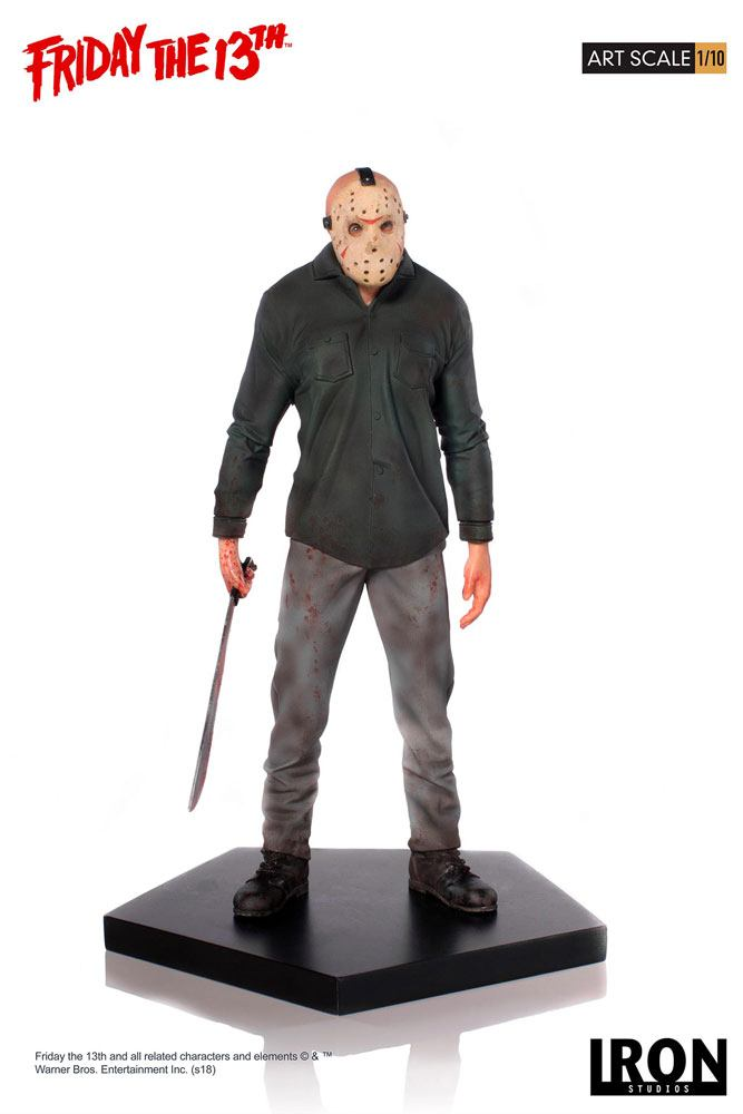Jason Friday the 13th Art 1/10 Scale Statue by Iron Studios
