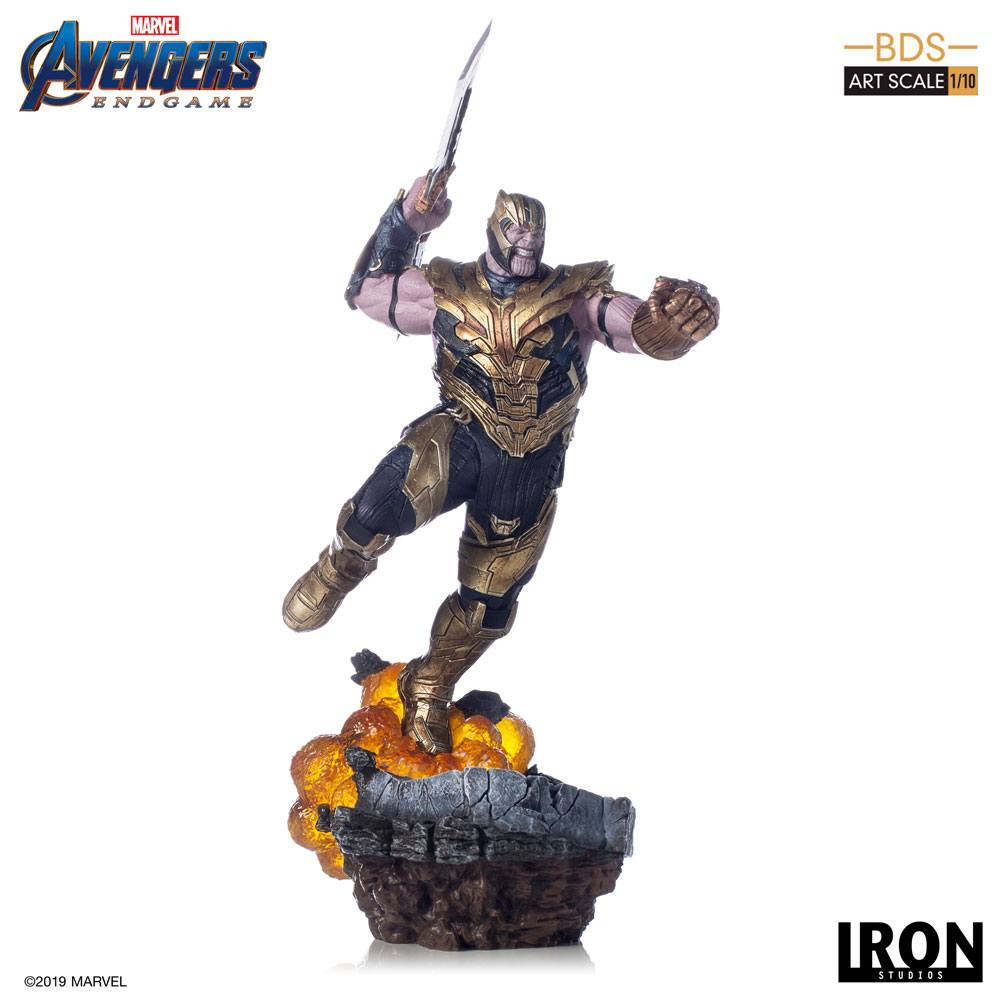 Thanos Avengers Endgame BDS Art 1/10 Scale Statue by Iron Studios