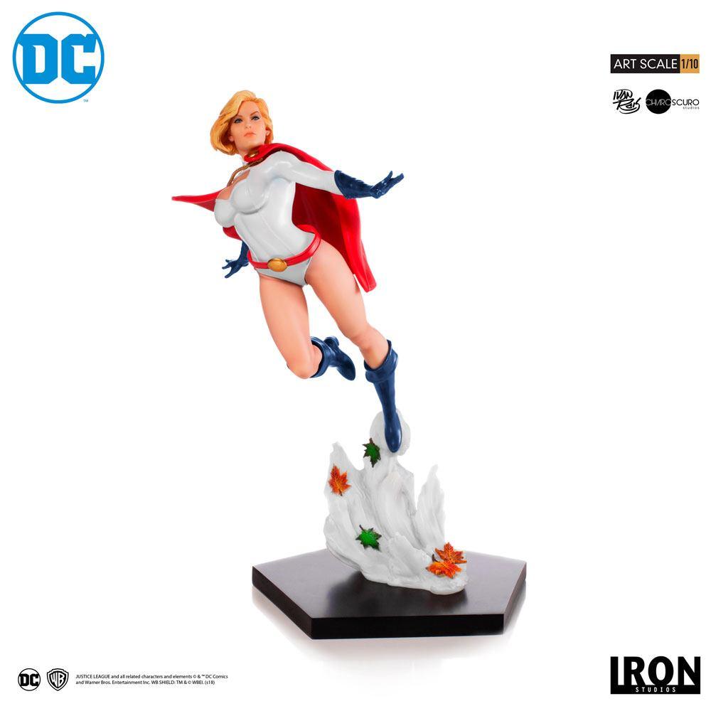 Power Girl (Ivan Reis) DC Comics 1/10 Art Scale Statue by Iron Studios