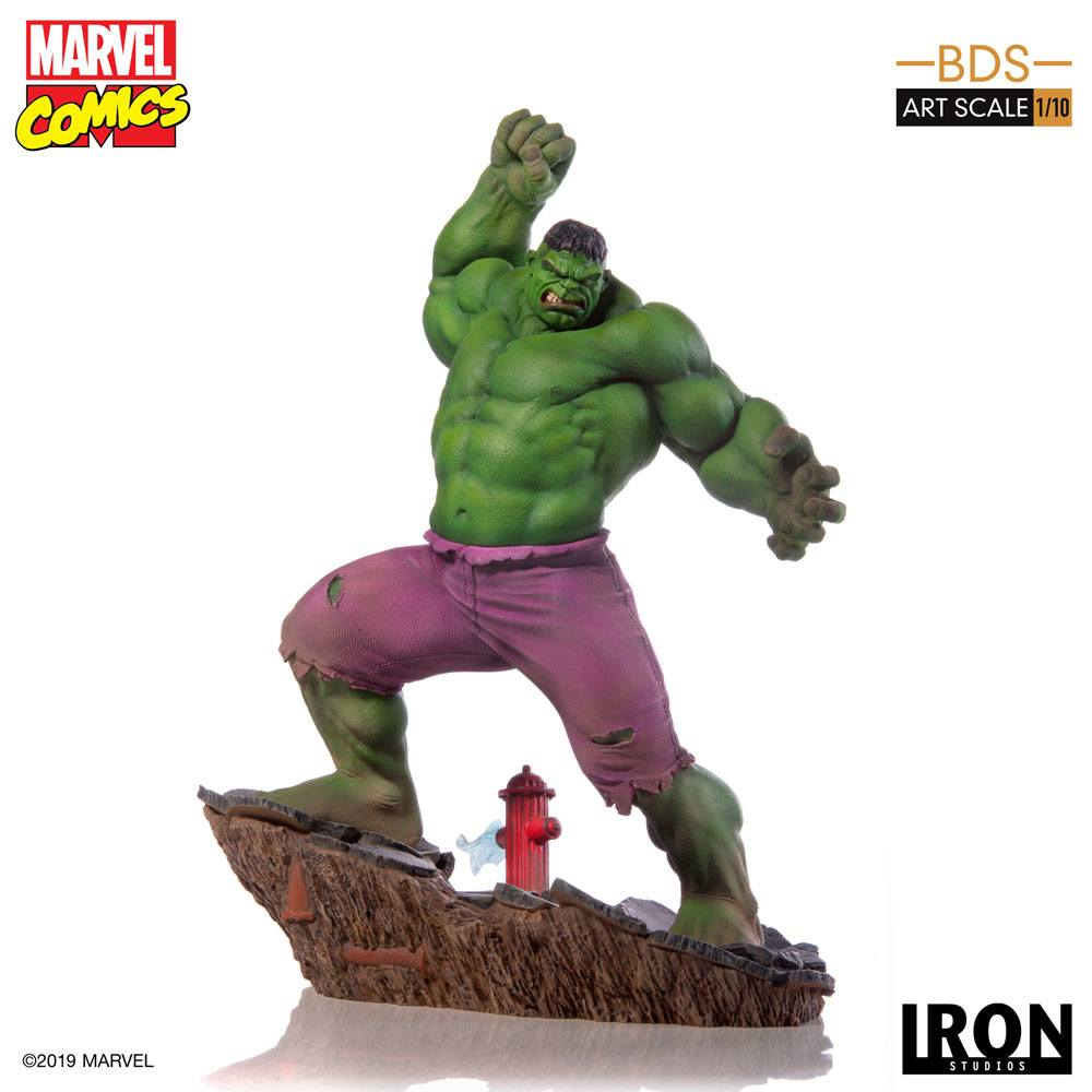 Hulk Marvel Comics BDS Art 1/10 Scale Statue by Iron Studios