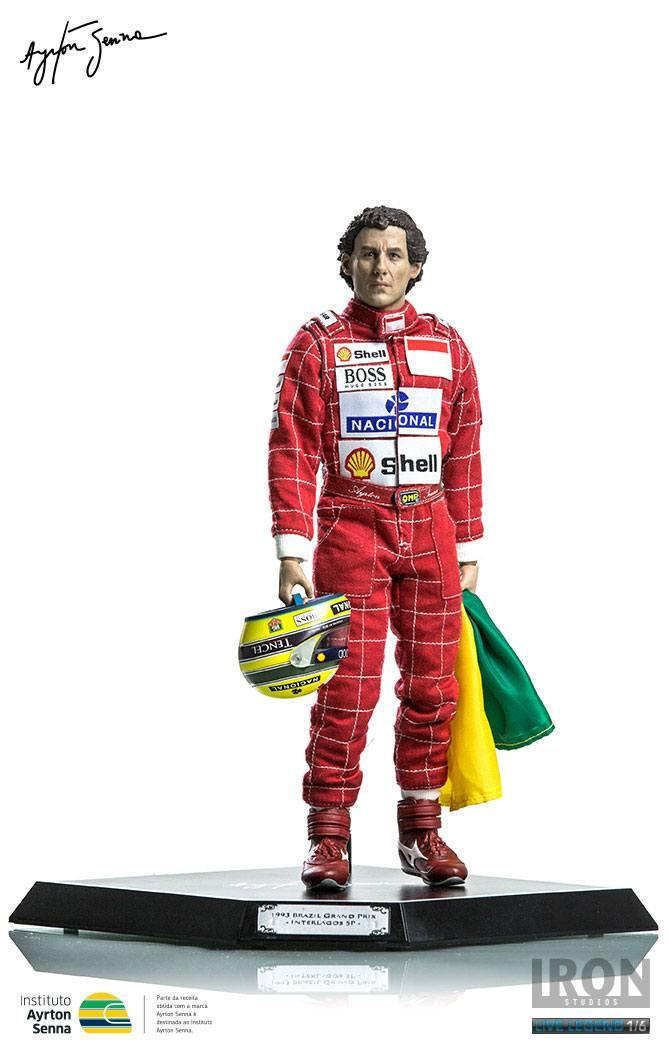 Ayrton Senna Action Figure 1/6 Ayrton Senna (GP São Paulo 1993) Regular Ver. 30 cm