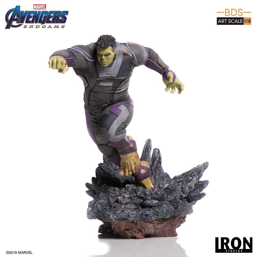 Hulk Avengers Endgame BDS Art 1/10 Scale Statue by Iron Studios