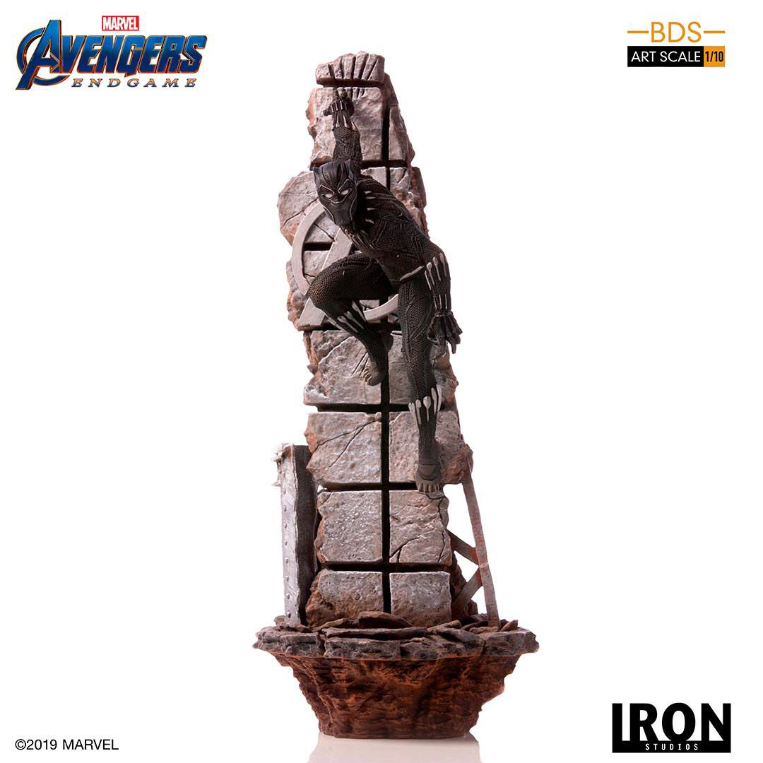 Black Panther Avengers: Endgame BDS Art 1/10 Scale Statue by Iron Studios