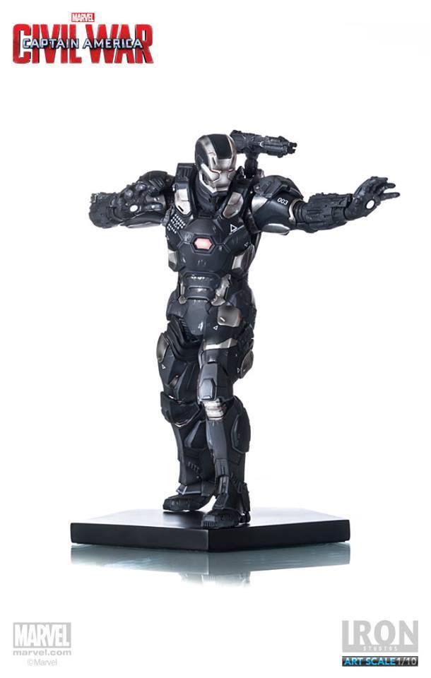 Captain America Civil War Statue 1/10 War Machine 20 cm