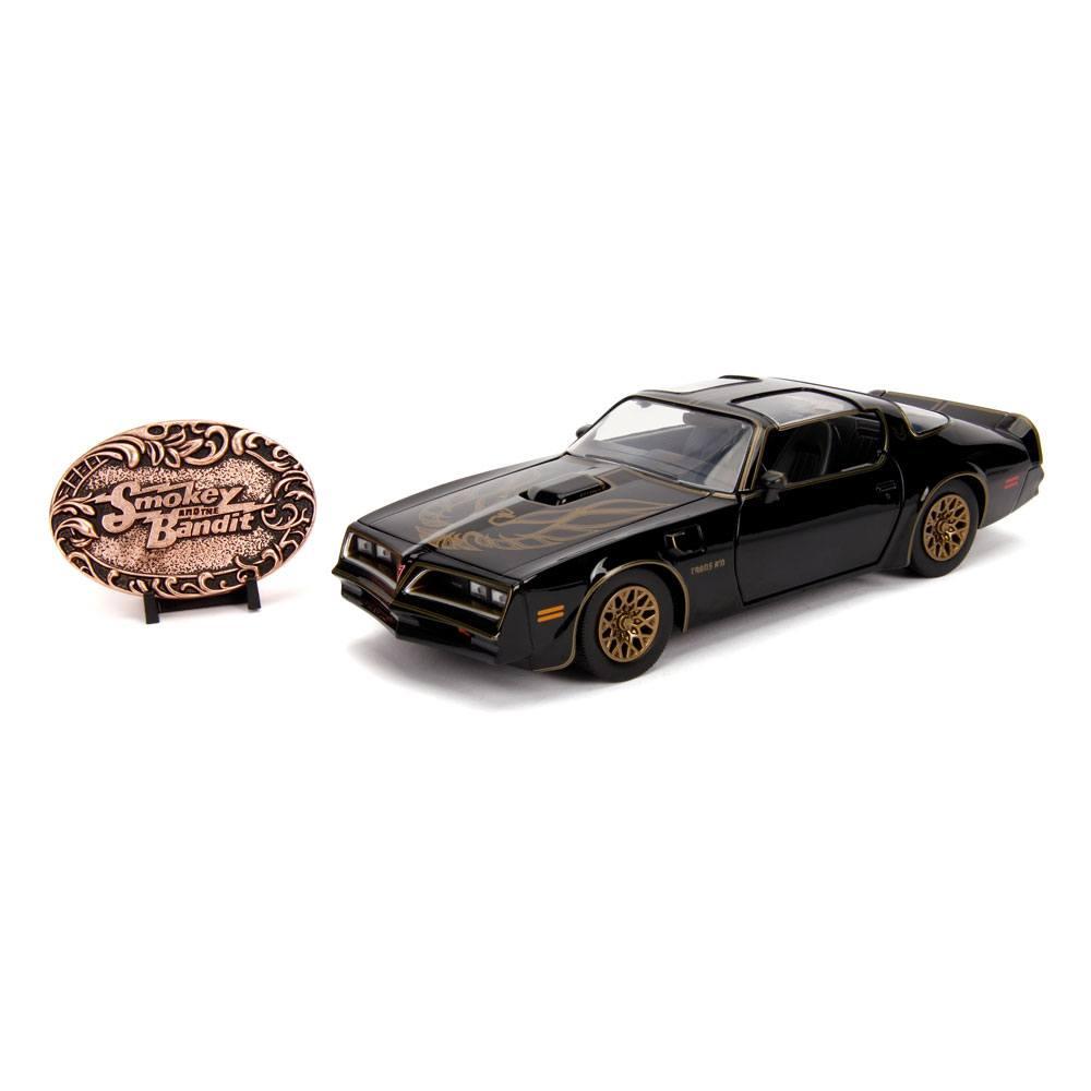 Smokey and the Bandit Hollywood Rides Diecast Model 1/24 1977 Pontiac Firebird