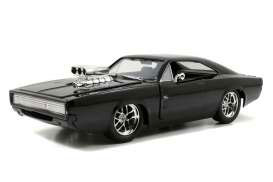 Fast & Furious Diecast Model 1/24 1970 Dodge Charger