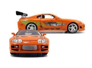Fast & Furious Diecast Model 1/18 1995 Toyota Supra *orange*