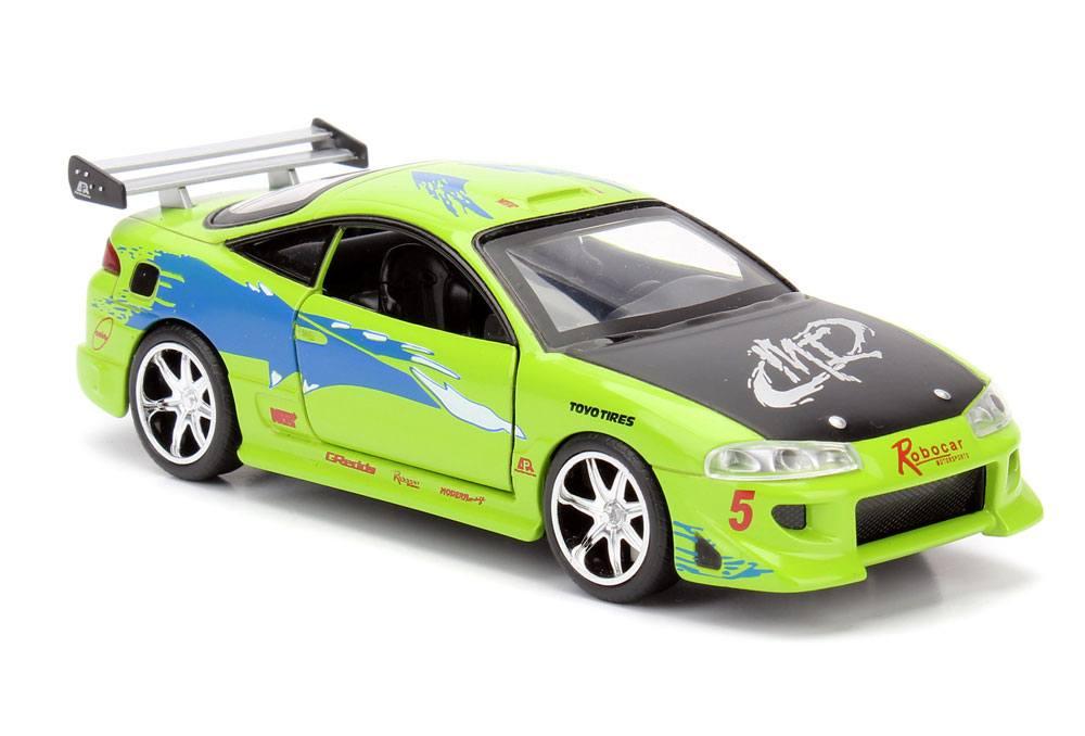 Fast & Furious Diecast Model 1/32 1995 Brian's Mitsubishi Eclipse