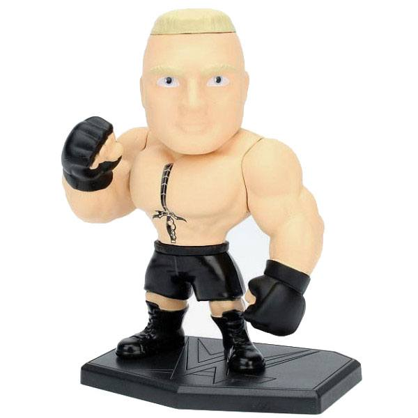 WWE Wrestling Metals Diecast Mini Figure Brock Lesner 10 cm