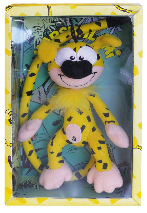 Marsupilami Beanie Plush Figure with Sound Marsupilami 18 cm
