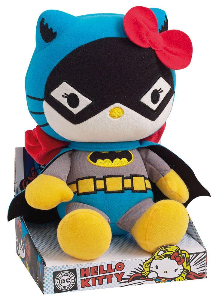 Hello Kitty DC Comics Plush Figure Batwoman 27 cm