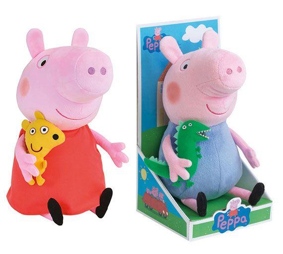 Peppa Pig Plush Figure 25 cm Assortment (6)