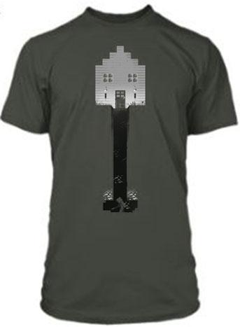 Minecraft Premium T-Shirt Shovel Size M
