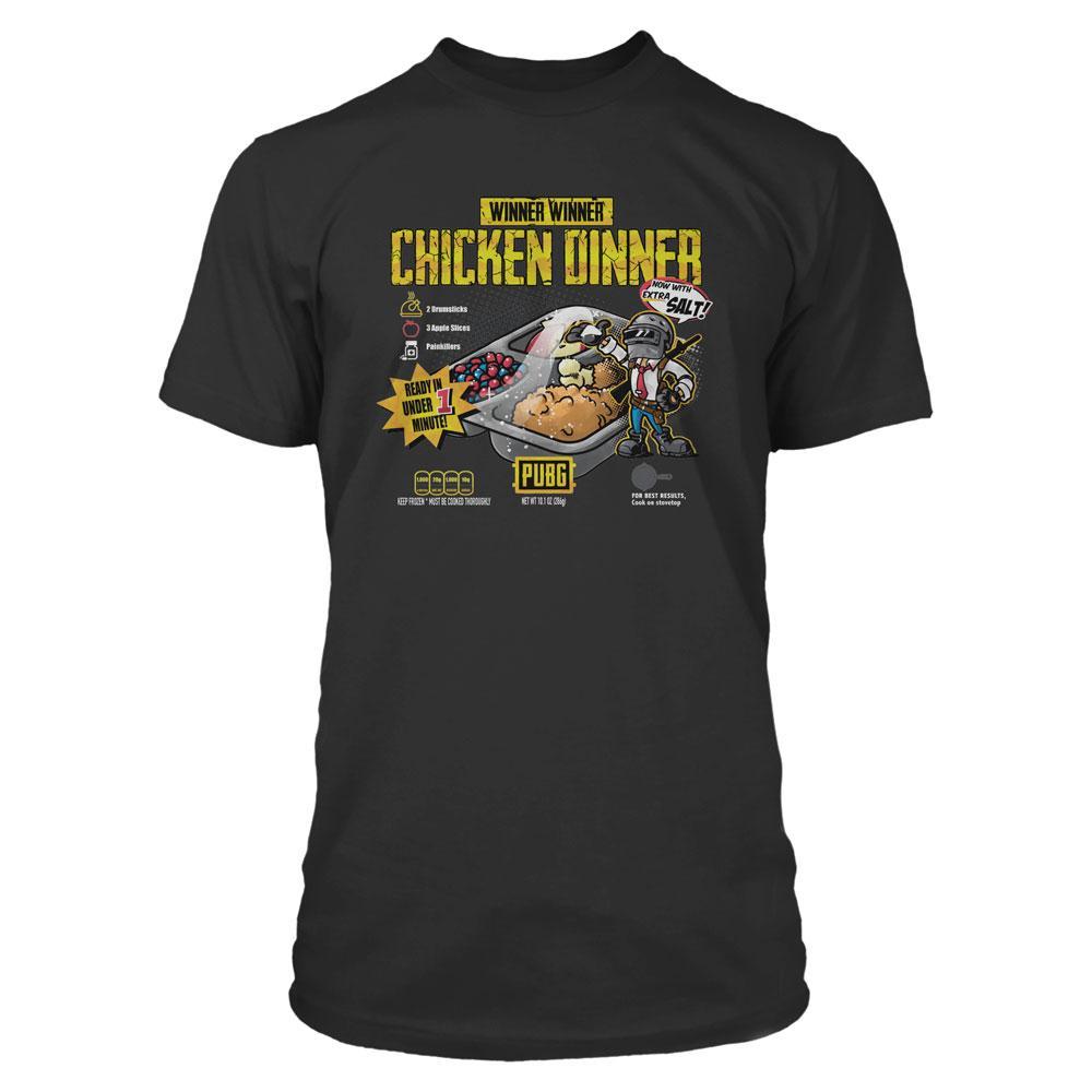 Playerunknown's Battlegrounds (PUBG) Premium T-Shirt Cuisine Size M
