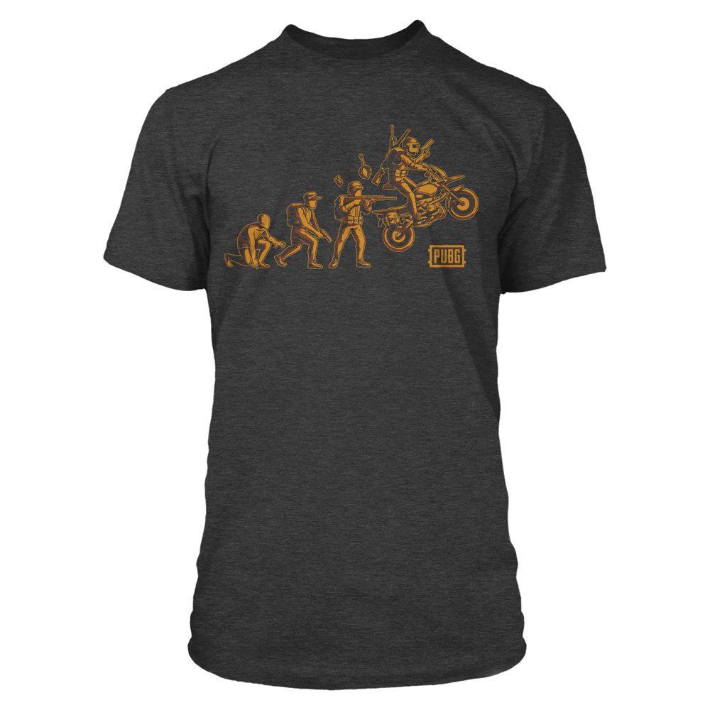 Playerunknown's Battlegrounds (PUBG) Premium T-Shirt Evolution Size M