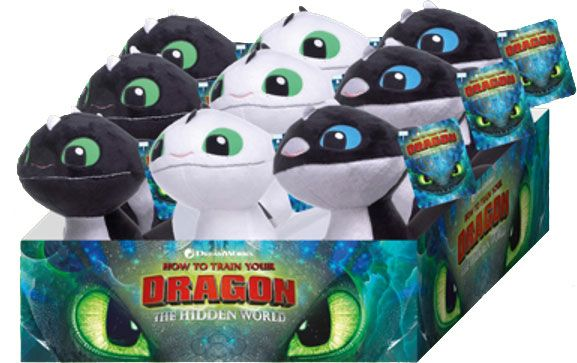 How to Train Your Dragon 3 Plush Figures 18 cm Assortment (9)