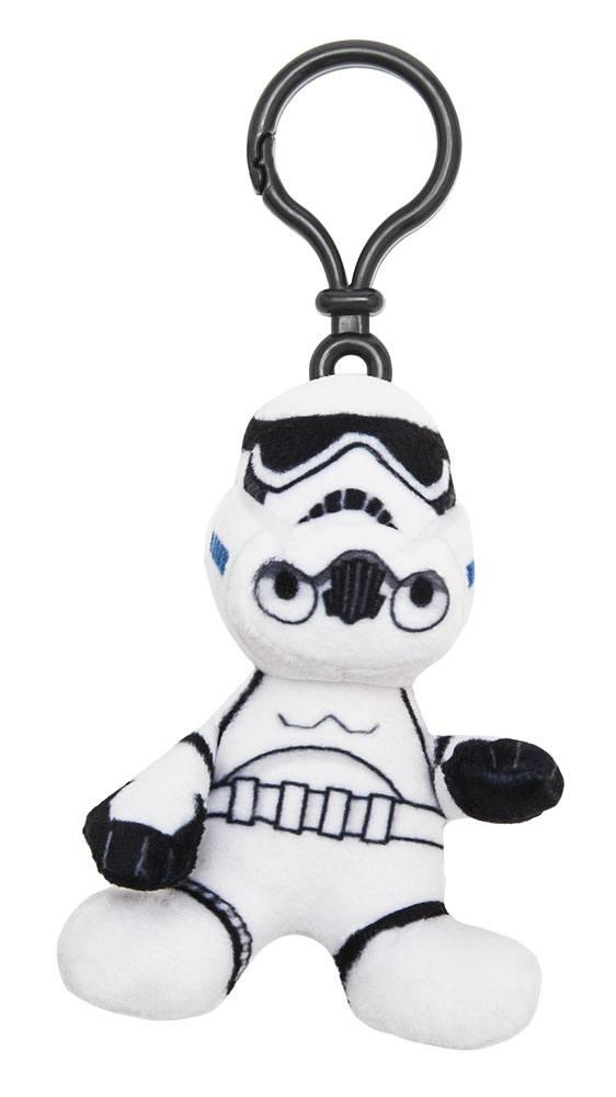 Star Wars Episode VII Plush Keychain Stormtrooper 8 cm