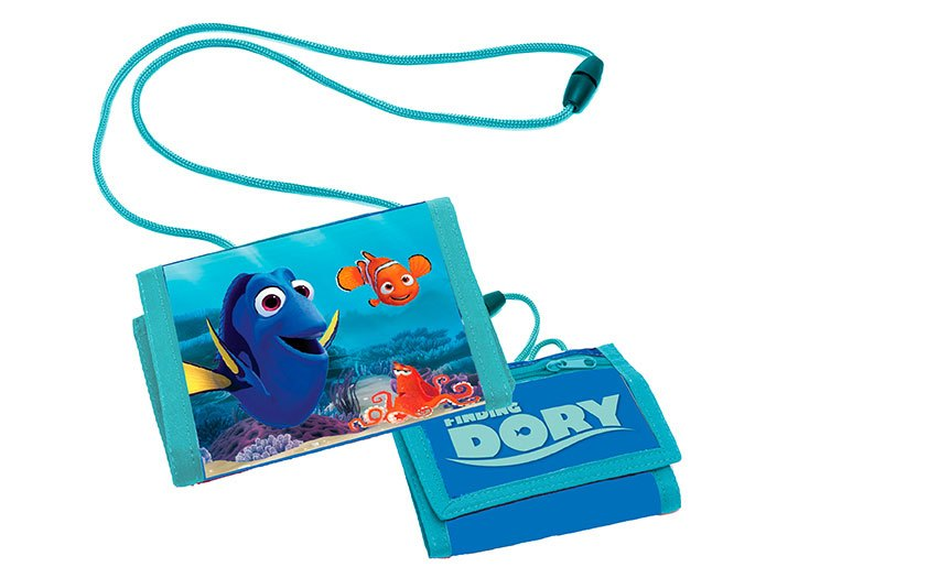 Finding Dory Wallet Characters