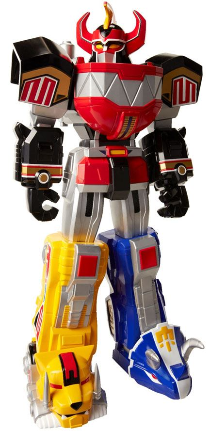 Power Rangers Giant Size Action Figure Dino Megazord 71 cm Case (4)